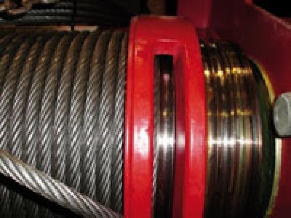 Reparatur der Seiltrommel - Hebezeuge: Reparatur der Seiltrommel inkl. Seilwechsel