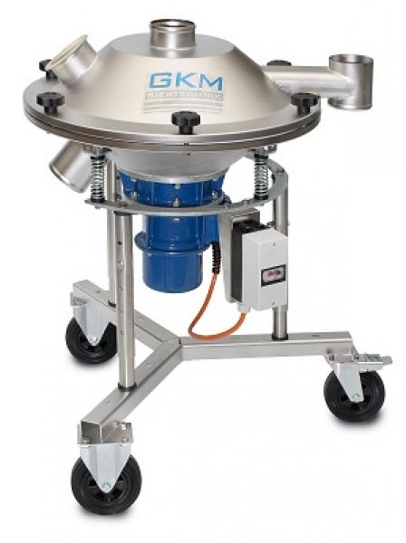 Vibrationssiebmaschine KTS-V - Diese robuste Siebmaschine Typ KTS-V, ist die perfekte Lösung für Trocken- und Nasssiebungen aller Art.<br /><br />Die Vibrationssiebmaschine kann speziell auf die Bedürfnisse der Kunden angepasst werden und ist in den Baugrößen Ø 450 bis 1500 mm verfügbar.