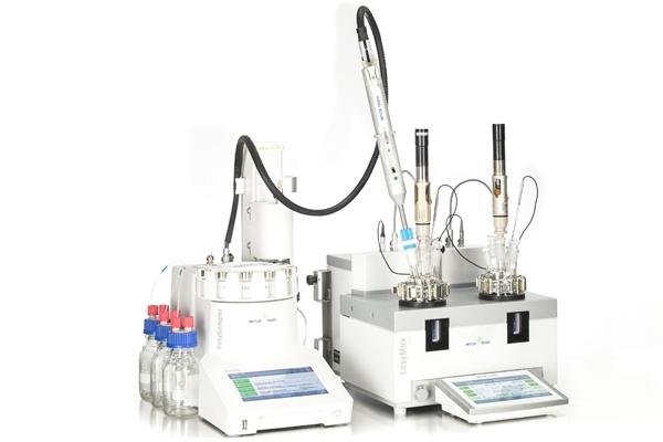 Automatische Reaktoren und In-situ-Analyse - Automatische Synthesereaktoren und kontrollierte Laborreaktoren ersetzen herkömmliche Rundkolben oder Doppelmantel-Laborreaktoren.  Dadurch können Forscher im Bereich der chemischen Synthese Reaktionsbedingungen erforschen und innovative Chemikalien entwickeln.