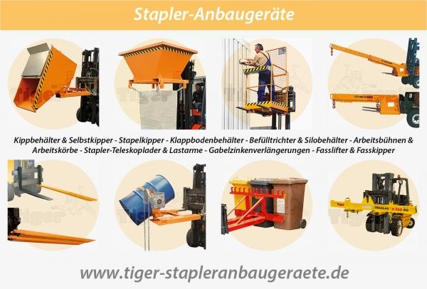 STAPLER-ANBAUGERÄTE - Lastaufnahmemittel, Anbaugeräte und Zubehör für den Stapler.
