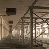 Klimatisierung eines Hochregal- Lagers - ideale Lagerbedingungen für empfindliche Waren