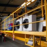 Sonderanlagenbau - hier eine Schaltschrankkühlung eines Kranes für den Einsatz in hohen Umgebungstemperaturen