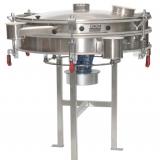 Vibrations-Taumelsiebmaschine KTS-VS - Diese GKM Siebmaschine KTS-VS eignet sich besonders für Kontrollsiebungen, Fraktionierungen und Entstaubungen von hochwertigen Produkten.<br /><br />Die Siebmaschine KTS-VS ist in den Baugrößen Ø 600 bis 1200 mm erhältlich.