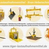 LASTAUFNAHMEMITTEL - Kran Hebetechnik vom Hersteller TigerHebezeuge.