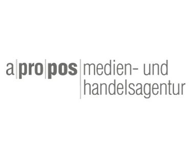 A|PRO|POS  Grossformatwerbung für die Unternehmenspräsentation