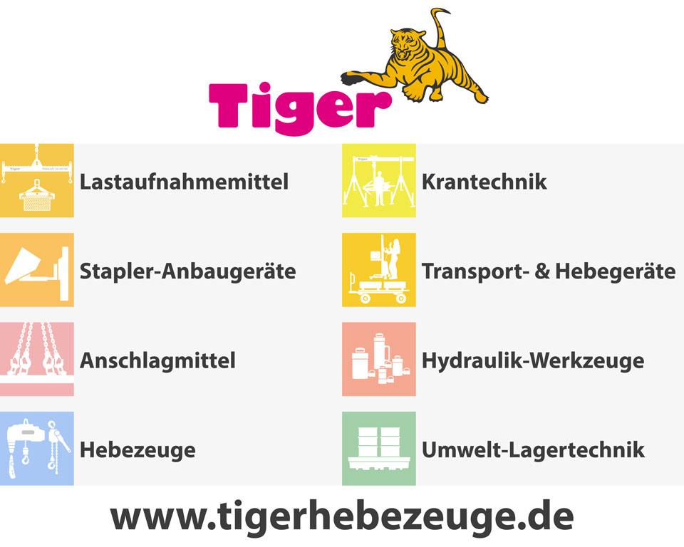 Tiger Hebezeuge Kurschildgen