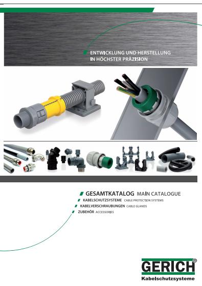 Kabel Gerich GmbH 74405 Gaildorf-Ottendorf Deutschland de.gerich.eu